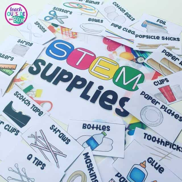 Free Stem Labels Teach Outside The Box