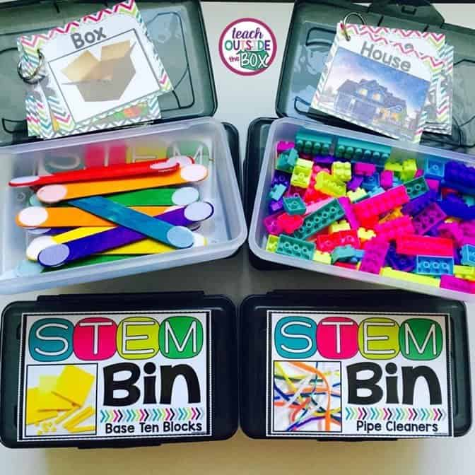 STEM Bins: Hands-on Solutions for Early Finishers - Teach