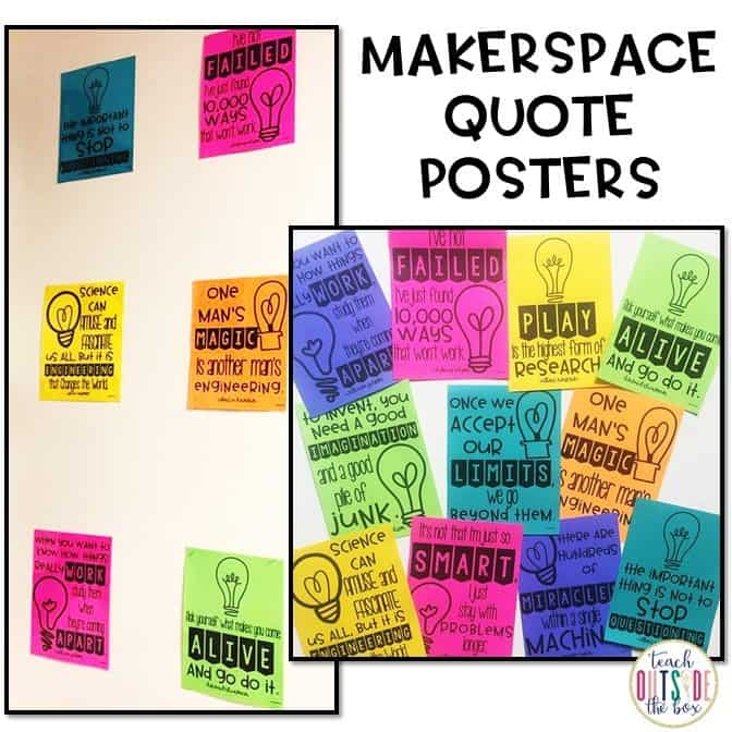 Are you interested in starting a classroom or school Makerspace OR maybe want to learn more about how Makerspaces work? You've come to the right place!