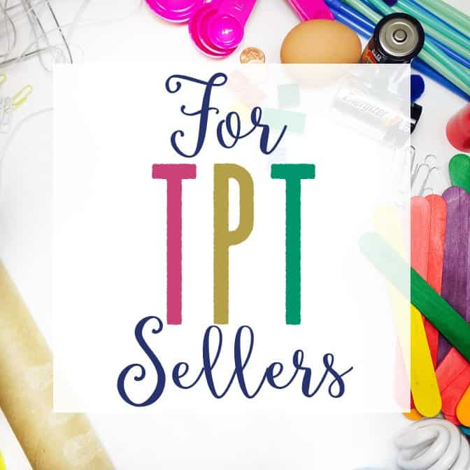 For TpT Sellers