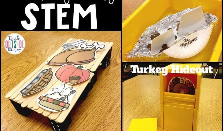 Low Prep Thanksgiving STEM